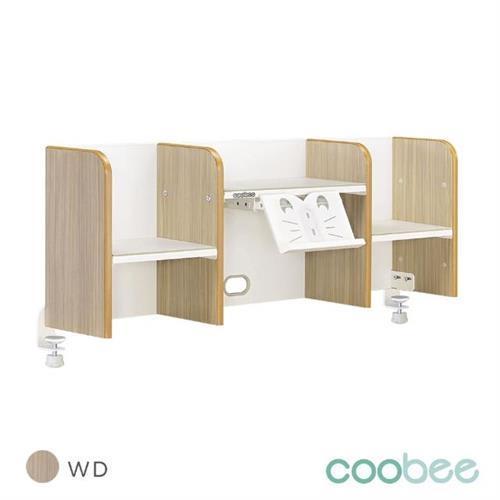 【coobee】120cm桌上書架(適用6系列桌款)/