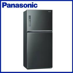 Panasonic 國際牌 650L 一級能效 雙門變頻冰箱(晶漾黑)NR-B651TV-K-庫(G)