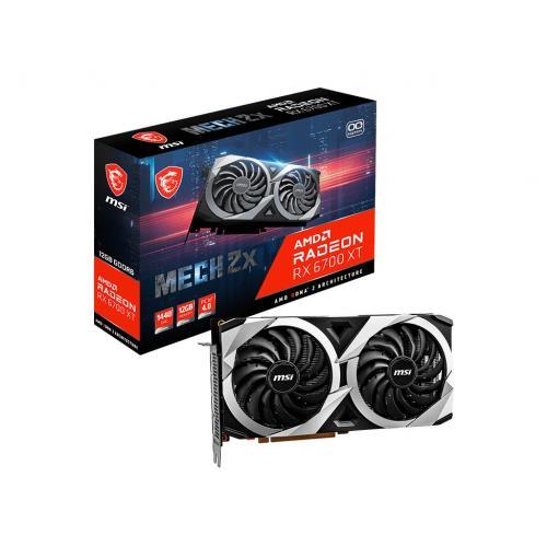 微星 MSI Radeon™ RX 6700 XT MECH 2X 12G OC 顯示卡