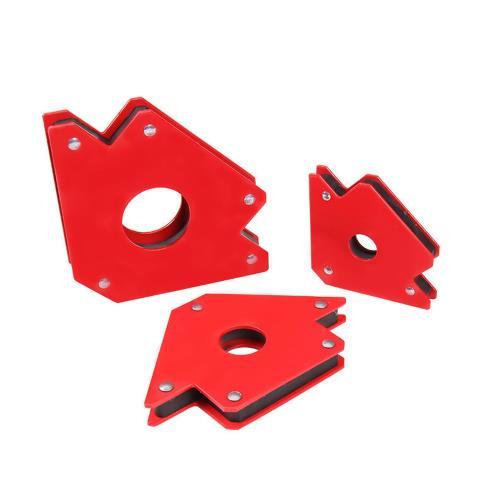 強磁焊接定位器 50磅中號 焊接神器 焊接固定器 焊接 焊絲 多功能角度焊接器 電焊神器 焊接輔助器 電焊磁鐵磁性鐵工角尺