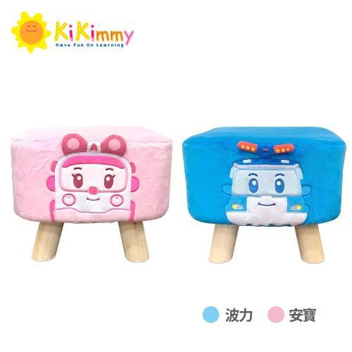 Kikimmy 救援小英雄兒童小椅凳兩入組(穿鞋凳、兒童椅)贈kikimmy隨行購物袋一入