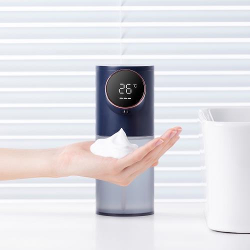 iClean LED溫度顯示自動泡沫給皂機