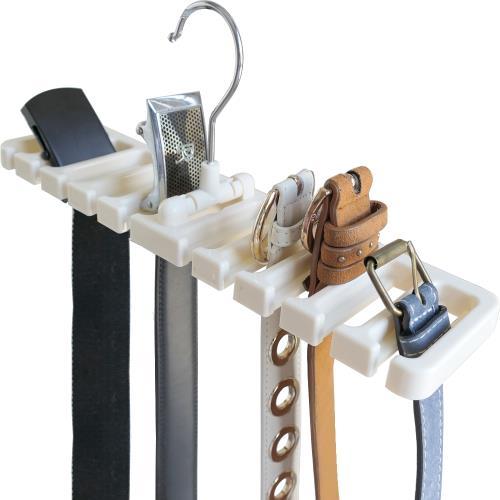 2支組-多功能皮帶收納架 皮帶掛架 領帶架