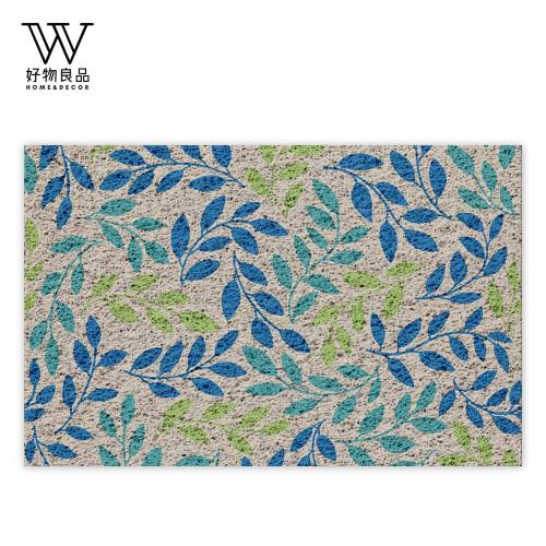 好物良品-40x60cm_和風森林-可剪裁玄關刮泥地墊(獨家設計) 刮泥墊 門墊 地毯