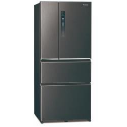 Panasonic國際牌610L一級能效四門變頻冰箱(絲紋黑)NR-D611XV-V (庫)(J)