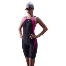 【SAIN SOU】競賽型泳裝加贈矽膠泳帽A972101-01