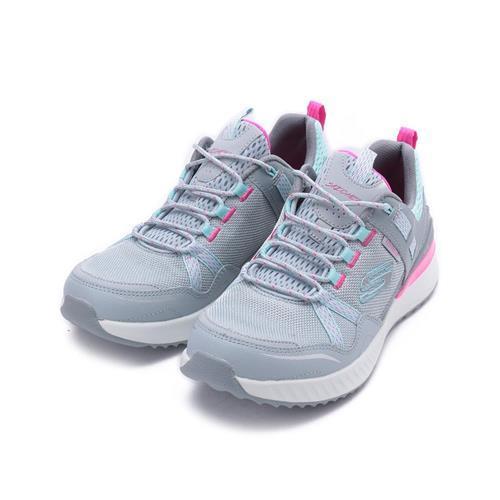 SKECHERS ULTRA FLEX TR 防水綁帶越野運動鞋 灰 149081LBPK 女鞋