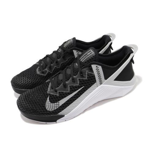 Nike 訓練鞋 Metcon 6 Flyease 男鞋 健身房 支撐 包覆 穩定 重量訓練 黑 灰 DB3790010 [ACS 跨運動]