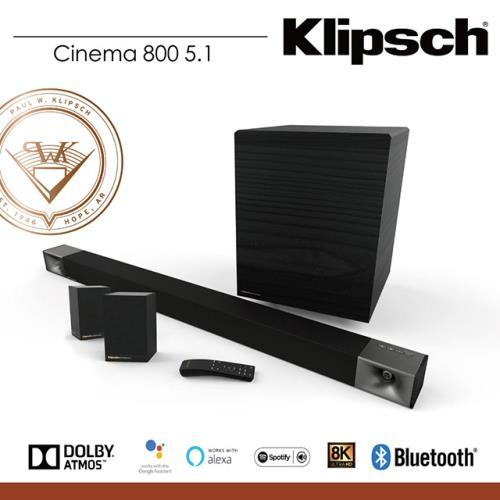【Klipsch】Cinema 800 SoundBar+Surround 3 (5.1聲道劇院組)