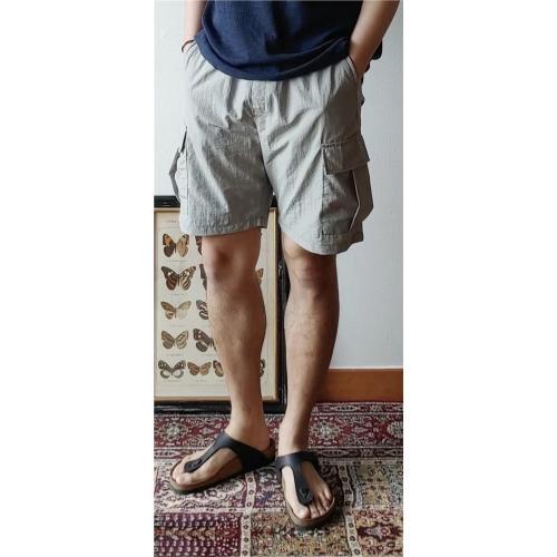 【愛戀花草】極輕休閒短褲(灰色)