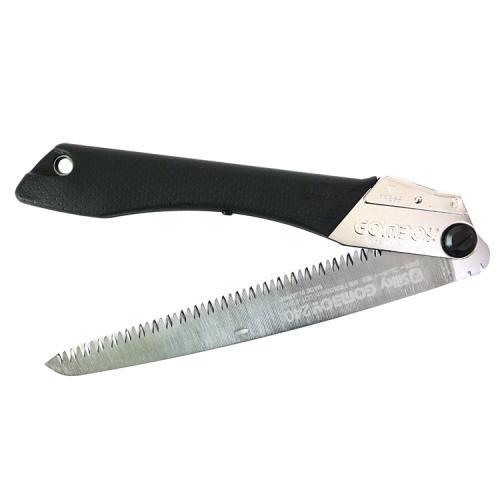 日本製Silky橡膠握把COMBOY中型鋸子270mm鋸子294-24(7枚目/30mm荒目淬火韌性鋼;可收折)中鋸刀適裁切割鋸木材修剪果樹