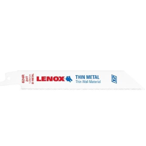 (5片裝)美國 LENOX 狼牌 長度 6 624R齒數 24T 金屬軍刀鋸片