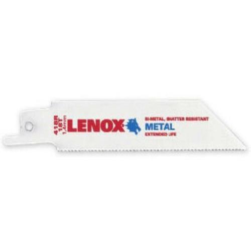 狼牌 LENOX 418R 長 4 齒數 18T 厚金屬用軍刀鋸片 雙金屬軍刀切割用切片(5片裝)