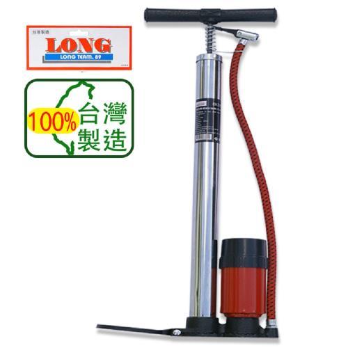 龍陣原廠-高壓直立氣壓錶打氣筒