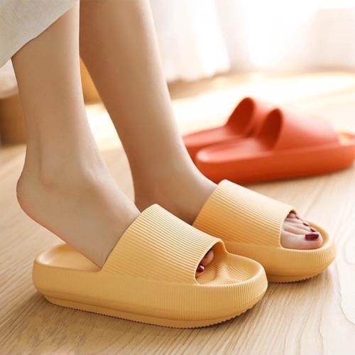 【寢室安居】EVA加厚防滑拖鞋(6色任選-厚底拖鞋/止滑)