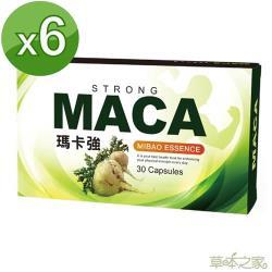 草本之家MACA 瑪卡強複方膠囊 (30粒/盒)x6盒