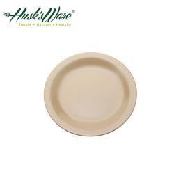 【Husk's ware】美國Husk's ware稻殼天然無毒環保圓盤9吋(3入組)