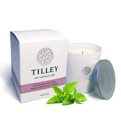 Tilley百年特莉 木蘭花綠茶香氛大豆蠟燭240g