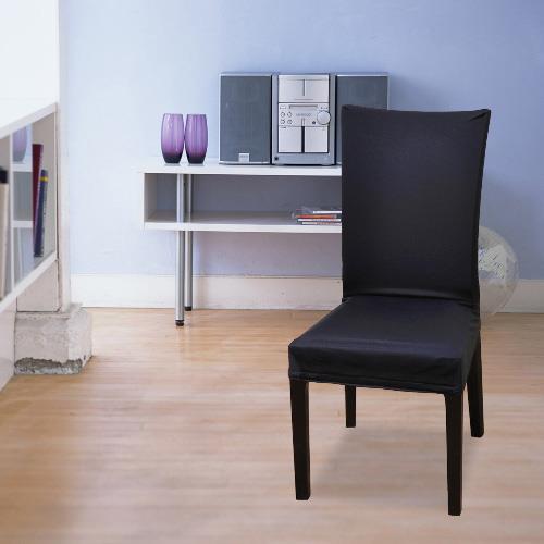 【格藍傢飾】摩登餐椅套-寶藍