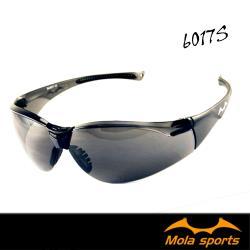 【MOLA SPORTS 摩拉】 耐撞擊 100%抗紫外線 安全太陽眼鏡 SA6017S 成人