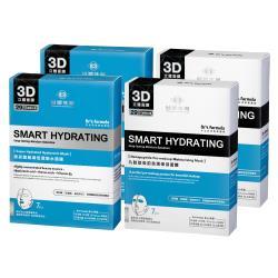 台塑生醫 Dr's Formula丰潤肌保濕面膜4入組(玻尿酸*2盒+九胜肽*2盒)