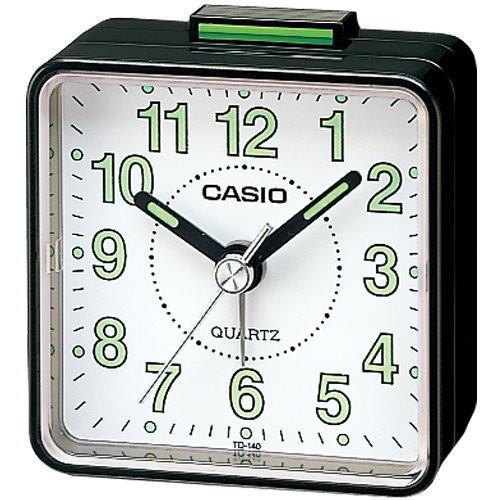 CASIO卡西歐-攜帶方便指針型鬧鐘TQ-140/