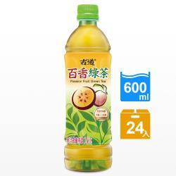 【古道】百香綠茶(600ml*24瓶)