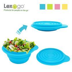 LEXNFANT含蓋摺疊碗-大
