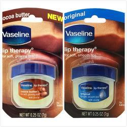 【美國 Vaseline】罐裝護唇膏-原始香味*4+可可奶油*4(0.25oz/7g*8)