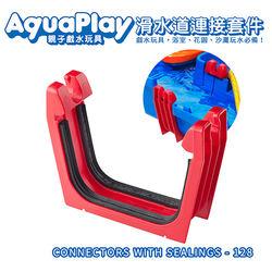【瑞典Aquaplay】滑水道連接套件-128