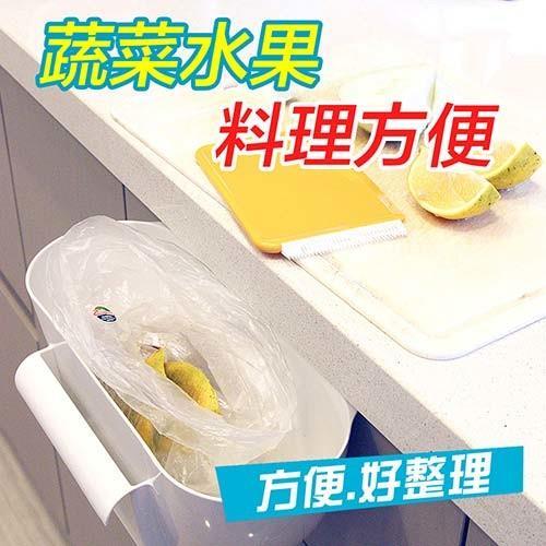 金德恩 台灣製造 流理臺菜渣盒附兩用推菜片