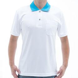 【SAIN SOU】台灣製吸濕排汗速乾短袖POLO衫T26536-14