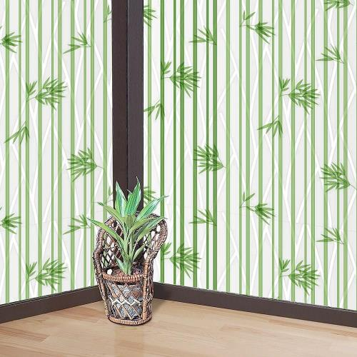 日本MEIWA節能抗UV靜電窗貼 (竹林風情) 92x200公分