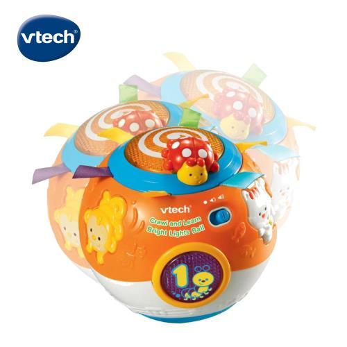 【Vtech】炫彩聲光滾滾球-橘色/