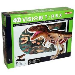 【4D MASTER】恐龍模型系列 - 半透視暴龍 622013
