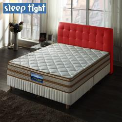 Sleep tight 真三線一面蓆護背硬式床墊(實惠型)-雙人加大6尺