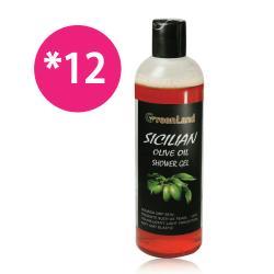GreenLand 西西里橄欖多酚美膚沐浴精華(12入超值組)