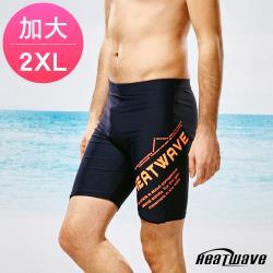 Heatwave熱浪 加大男泳褲 七分馬褲-乘風趣325