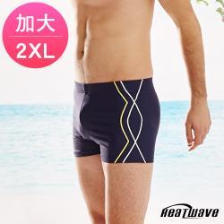 Heatwave熱浪 加大男泳褲 七分馬褲-金典風330
