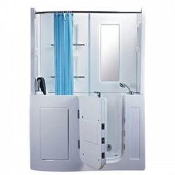 【海夫健康生活館】開門式浴缸 106B-A 基本款 (152*81*208cm)