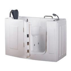 【海夫健康生活館】開門式浴缸 107-A 基本款 (140*76*98cm)