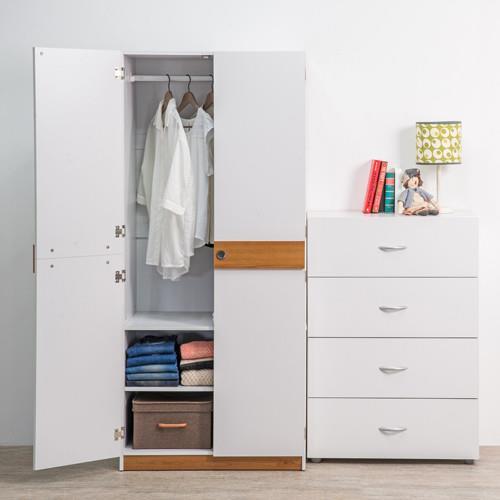 TZUMii 優質雙門衣櫥