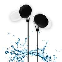 ~活力揚邑~ 跑步防汗水防潑水重低音可360度調整耳掛入耳式麥克風線控3.5mm 耳機~