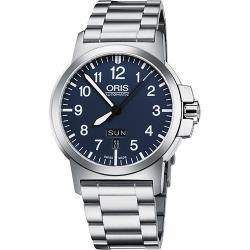 Oris BC3 Advanced 日曆星期機械腕錶-藍/42mm 73576414165-0782203