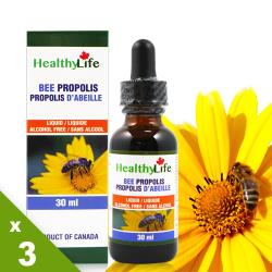 【Healthy Life加力活】蜂膠滴液Bee Propolis(30毫升*3瓶)