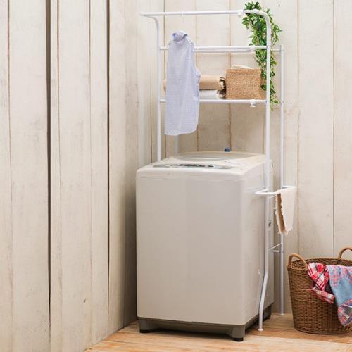 【樂活玩家】2層洗衣機置物架