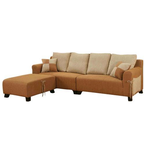 Boden-艾麗莎L型布沙發-左右型