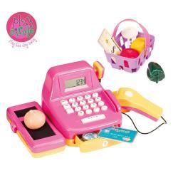 【美國B.Toys感統玩具】PlayCiRcle系列-露卡電子收銀機