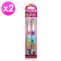 美國FIREFLY-經典Barbie兒童牙刷(2支裝-2組)