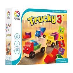 【比利時 SMART GAMES 桌遊】卡車益智裝裝樂 ACT05764